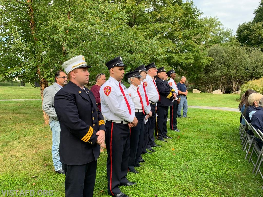 Town of Lewisboro First Responders at the Town of Lewisboro 9/11 Memorial Service