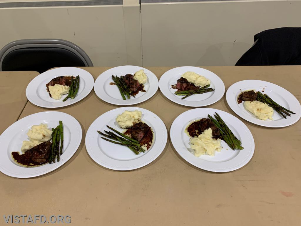 Platoon 2's Main Course for the 3rd Annual Saturday Platoons cooking competition