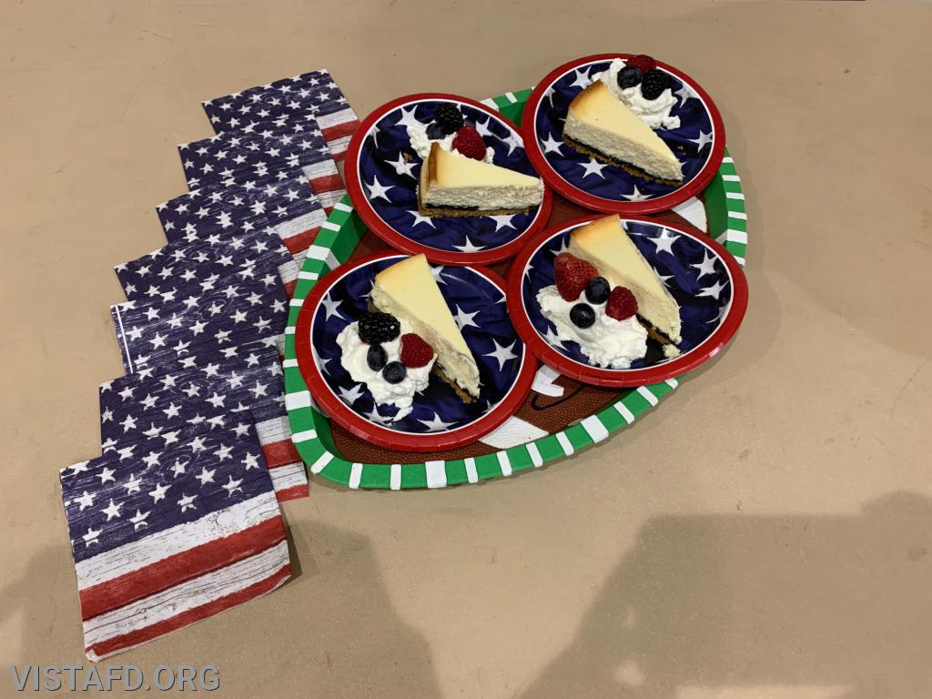 Platoon 2's dessert for the 3rd Annual Saturday Platoons cooking competition