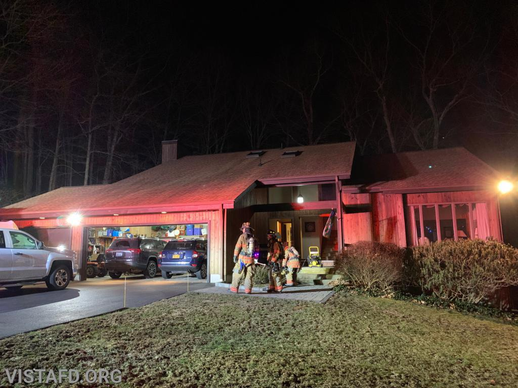 Structure Fire on Smith Ridge Road