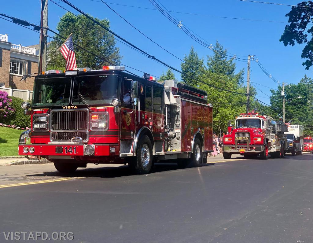"Vista Fire Department to hold ""Birthday Parades"" on Saturdays"