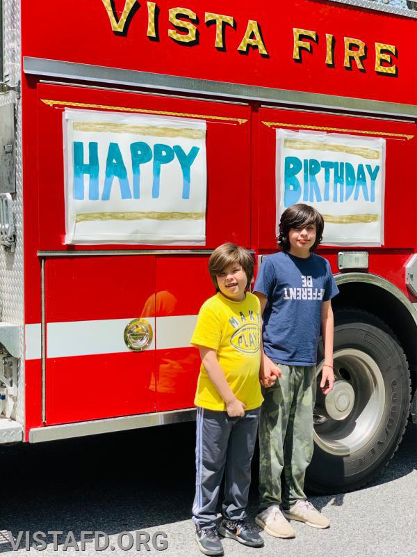 Happy 11th Birthday Noah Butler and Happy 14th Birthday Mateo Butler!