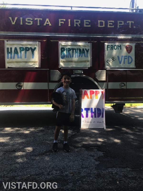 Happy 6th Birthday Anthony Tsai!