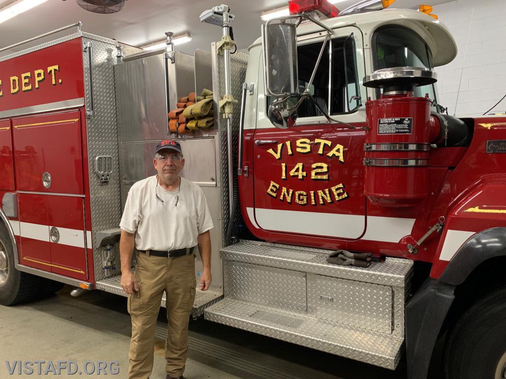 Firefighter Brian Sferra