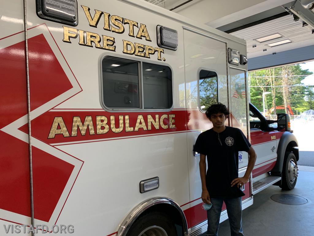 Firefighter Lance Phillips