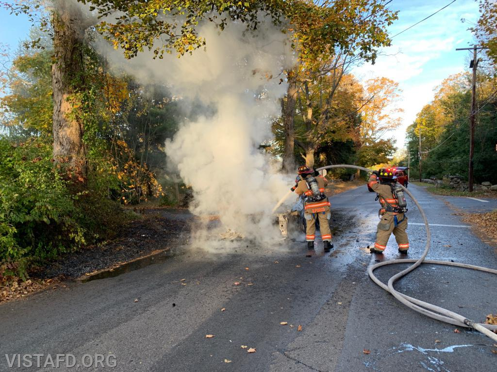 Motor Vehicle Fire on West Lane