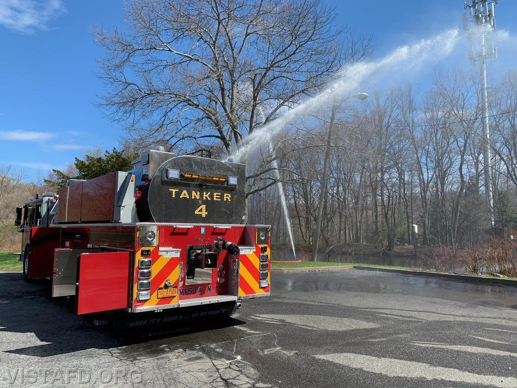 """Vista Tanker 4 flowing water during """"Driver Training"""""""