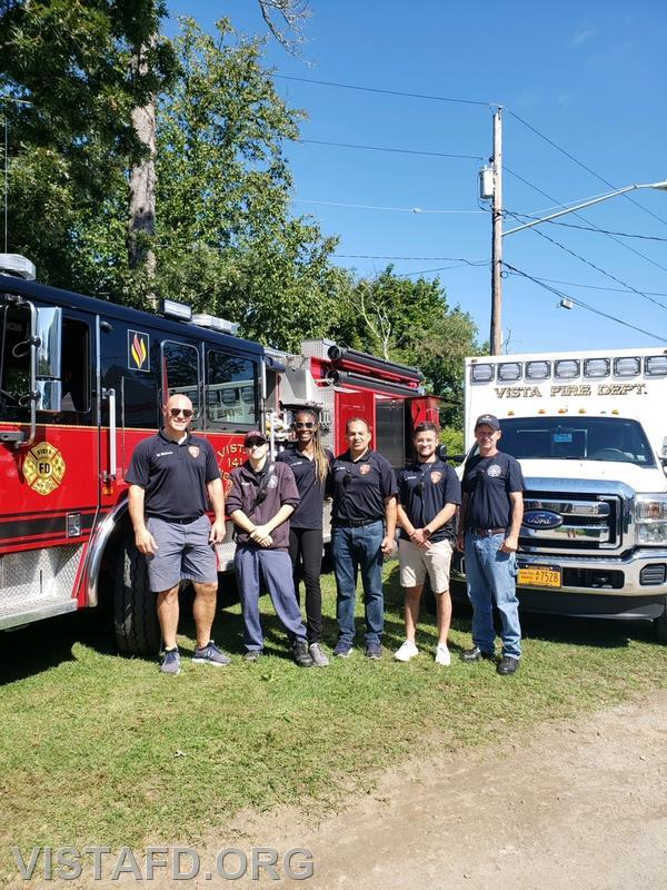 The Vista Fire Department at the 2021 Lewisboro Library Fair