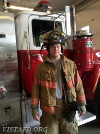Firefighter Will Pope