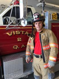 Firefighter Marc Baiocco