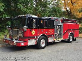 Engine 141 - 2016 Seagrave Marauder II Stainless Steel Custom Pumper