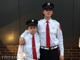 Firefighter Ryan Ruggiero and Firefighter Patrick Healy
