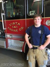 Firefighter J.T. Bowensmith