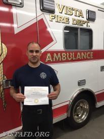 Firefighter/EMT Candidate Dan Castelhano