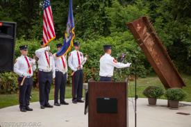 Photo from last year's 9/11 Memorial Service