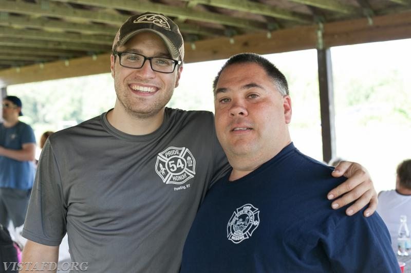 Lt. Brian Porco and Mutual Responder Dave Jacobsen (Photo Credit: Jamie Kaplan)