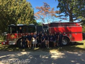 The Vista Fire Department at the 2017 South Salem Library Fair