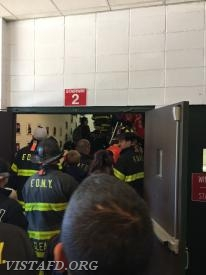Firefighters from across the country begin the National Stair Climb