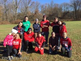 """Team 2564"" - Captain Mike Peck's team from the 2017 VFD Turkey Bowl IV"