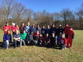 The Vista Fire Department during the 2017 Turkey Bowl IV