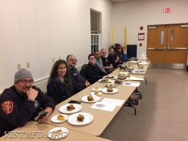 All 4 Saturday Platoons during the cooking competition