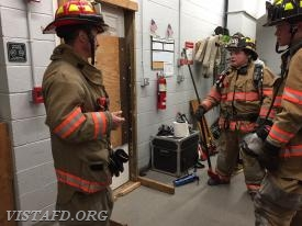 Lt. Phil Katz reviewing how to conduct Forcible Entry