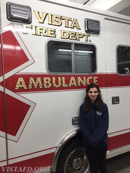 EMT Candidate Jasmine Lilly