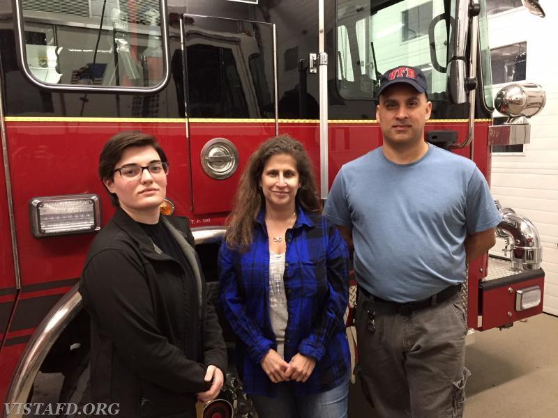 Foreman Karen Lilly, Capt. Debbie Ferman & Foreman Dan Castelhano