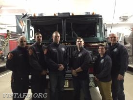 (L-to-R) Foreman Dan Castelhano, Foreman Adam Bartley, Foreman Will Pope, Foreman Mike Canil, Foreman Karen Lilly & Lead Foreman Marc Baiocco