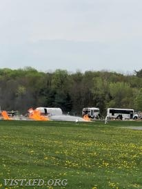"The training scenario for the ""Westchester County Airport Full-Scale Exercise"""