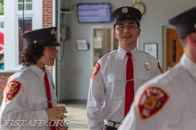 Probationary EMT Candidate Jacob Agona and EMT Candidate Mark Sfreddo