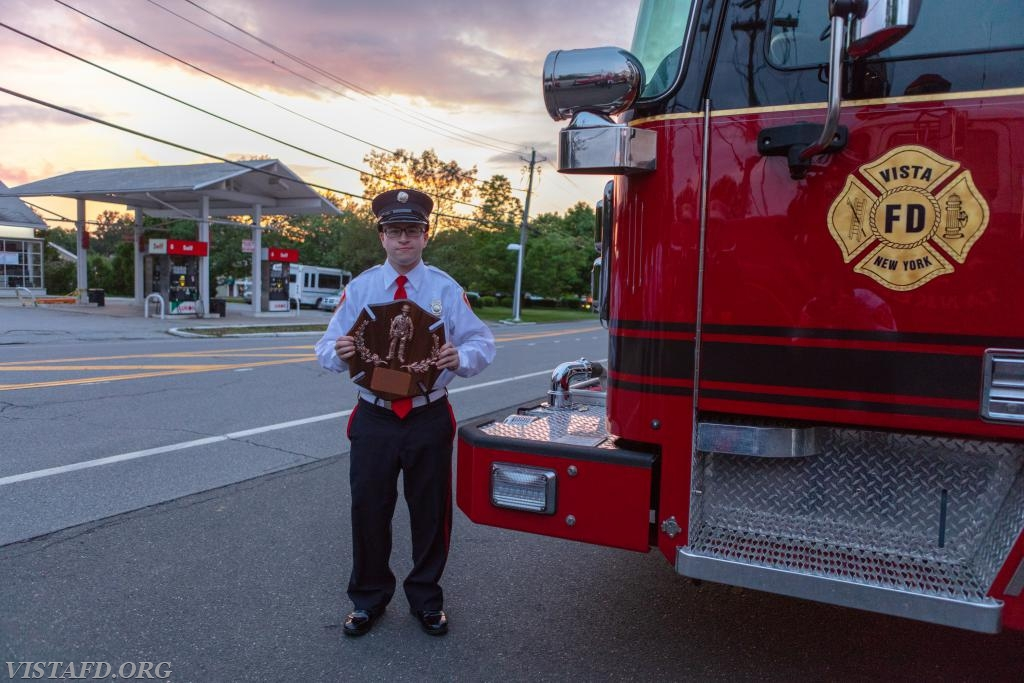 2017-2018 Vista Fire Department Firefighter of the Year: FF Ryan Ruggiero