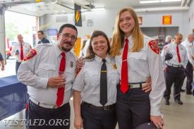 EMT Greg Pastrana, Lt. Allie Fisher and EMT Candidate Isabel Fry