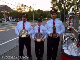 The 2018 Vista Fire Department Annual Inspection Dinner Award Winners