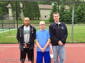 Platoon 3 (Lt. Wilmer Cervantes, FF Ryan Ruggiero & FF/EMT Candidate Sean Kaplan)