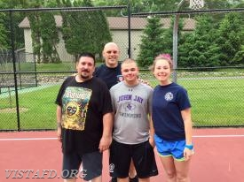 2018 Saturday Platoons 3-on-3 Basketball Tournament Champions: Platoon 1 (EMT Greg Pastrana, Lead Foreman Marc Baiocco, Probationary EMT Candidate Nicholas Kaplan & Probationary FF/EMT Candidate Elly Hersam)