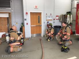 "Lead Foreman Marc Baiocco going over the evolution during ""MPO & Firefighter Fundamentals Class"""