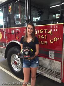 Firefighter Olivia Buzzeo