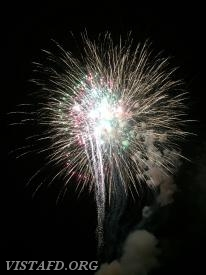 The 2018 Town of Lewisboro Fireworks show