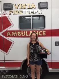 Firefighter/EMT Candidate Elly Hersam