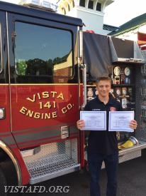 Probationary Firefighter Finn Brannan