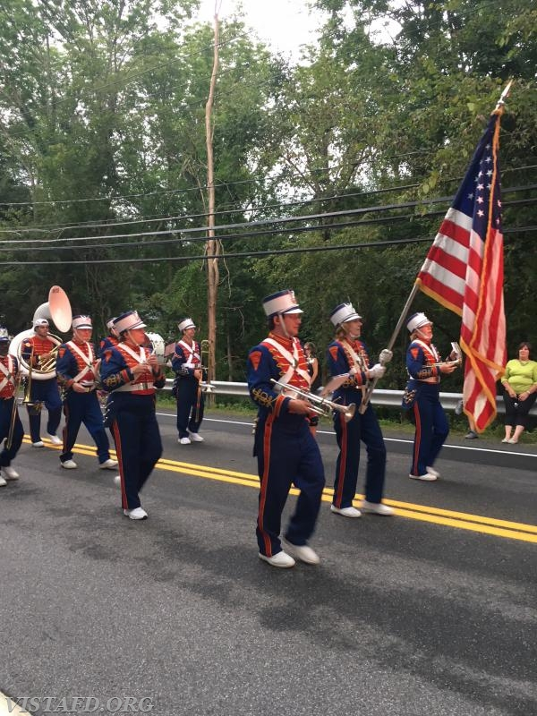 Nash Drum Corps. marching in the 2018 South Salem Fire Department Parade
