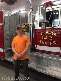 Firefighter/EMT Candidate Patrick Healy