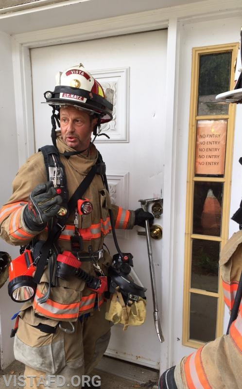 Lt. Phil Katz reviewing forcible entry