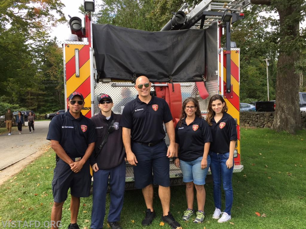 The Vista Fire Department at the 2018 South Salem Library Fair