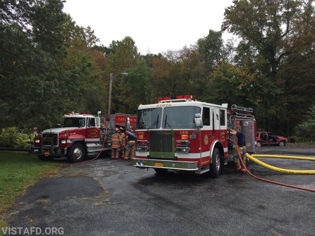 """Engine 142 & Engine 143 during """"MPO & Firefighter Skills Class"""""""
