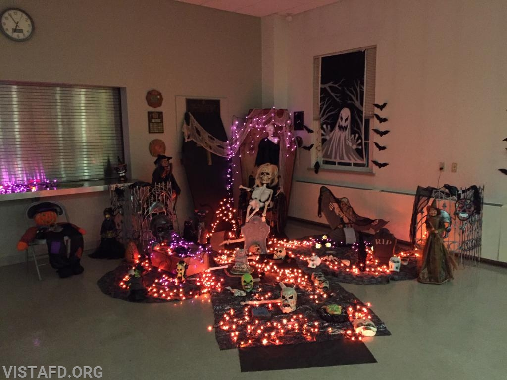 Decorations from our 2018 Community Halloween Party