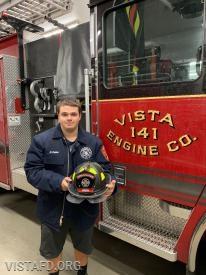 Firefighter/EMT Candidate Nicholas Kaplan