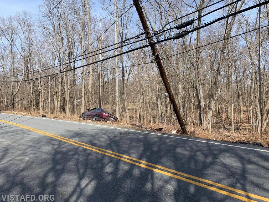 MVA on Smith Ridge Road
